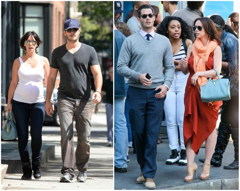 Jennifer Love Hewitt's family - husband Brian Hallisay