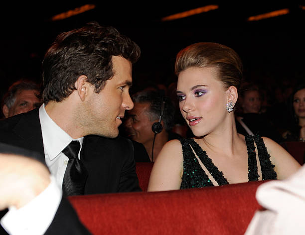 Scarlett Johansson's family - ex-husband Ryan Reynolds