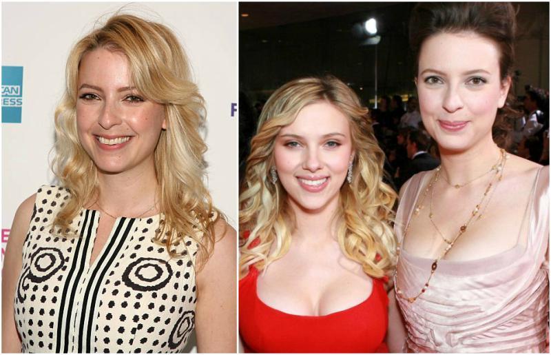 Scarlett Johansson's siblings - sister Vanessa Johansson
