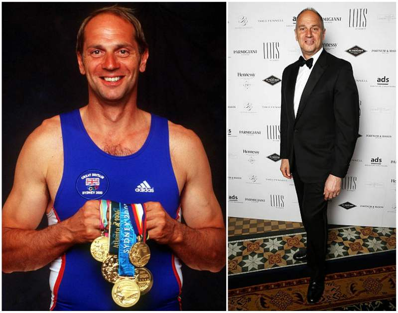 The world's famous celebrity diabetics - Sir Steve Redgrave