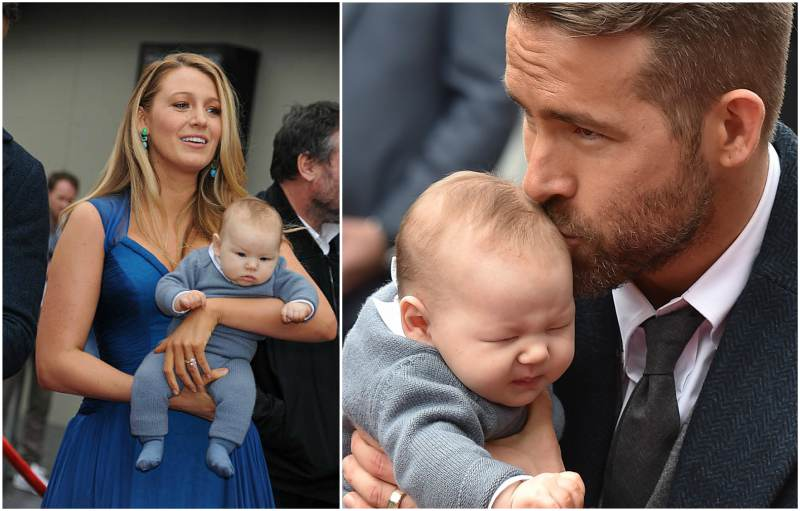 Blake Lively and Ryan Reynolds children - daughter Ines Reynolds