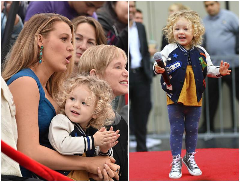 Blake Lively and Ryan Reynolds children - daughter James Reynolds