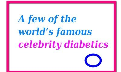 Celebrities with diabetes