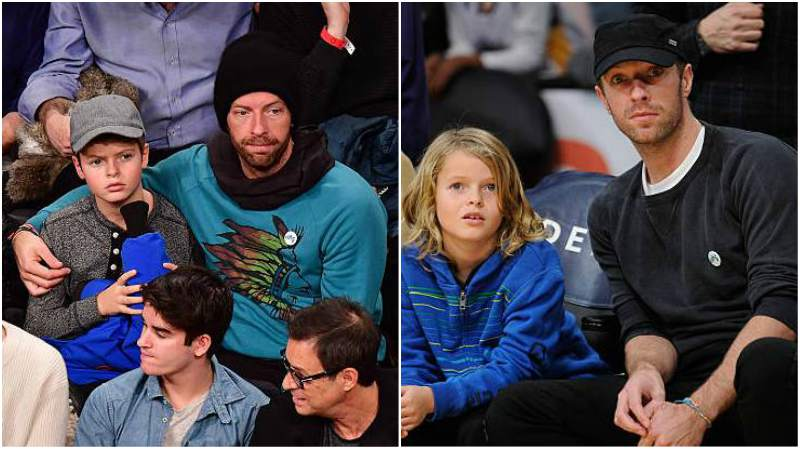 Gwyneth Paltrow and Chris Martin's children - son Moses Bruce Athony Martin