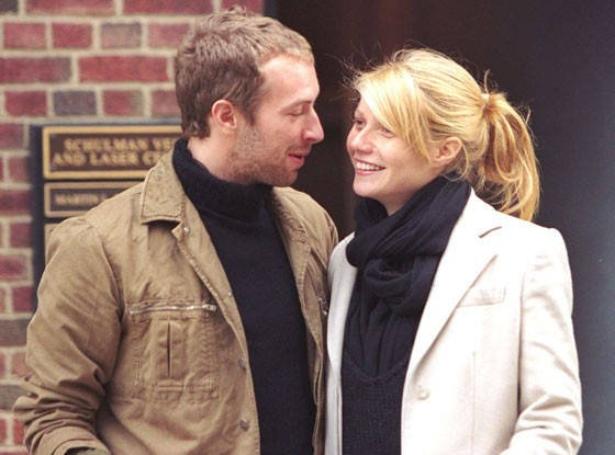 Gwyneth Paltrow's family - ex-husband Chris Martin