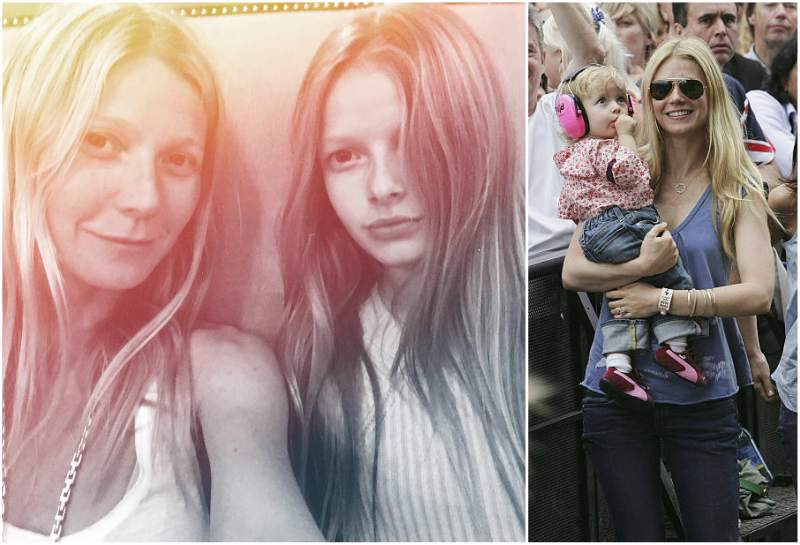 Gwyneth Paltrow and Chris Martin's children - daughter Apple Martin