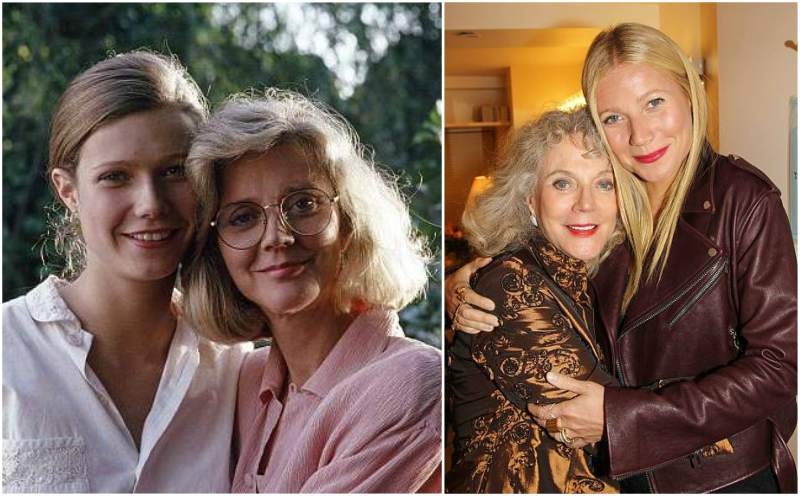Gwyneth Paltrow's family - mother Blythe Danner
