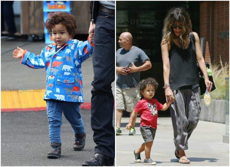 Halle Berry's children - son Maceo-Robert Martinez