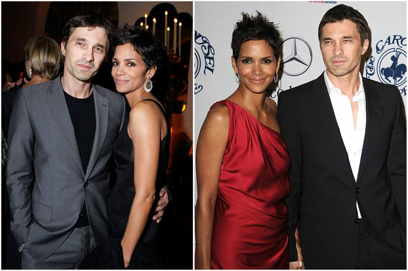 Halle Berry's family - ex-husband Olivier Martinez