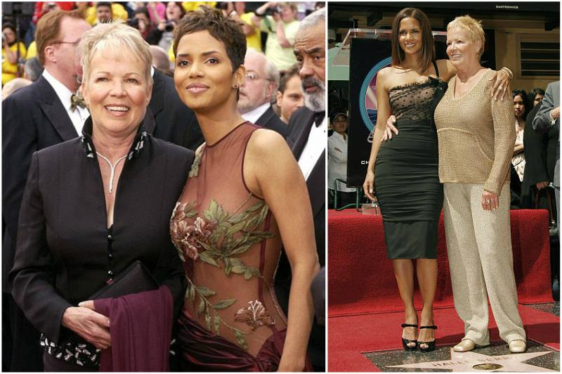 Halle Berry's family - mother Judith Ann Hawkins