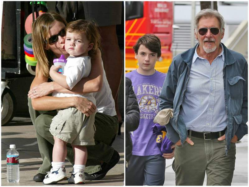 Harrison Ford's children - adopted son Liam Flockhart