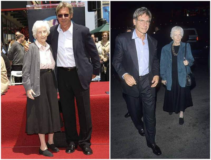 Harrison Ford's family - mother Dorothy Nidelman