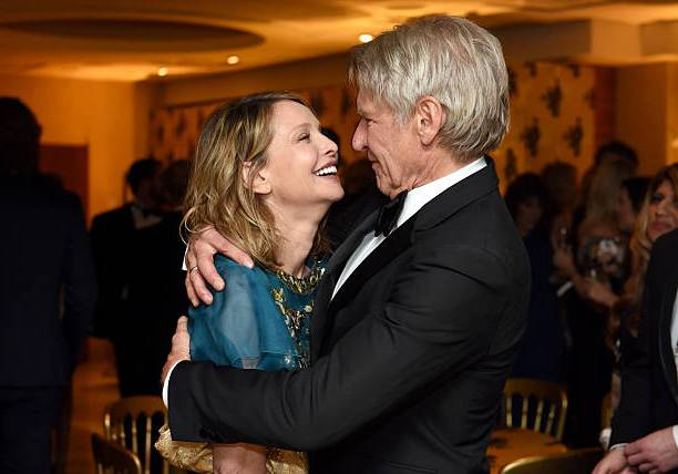 Harrison Ford's family - wife Calista Flockhart