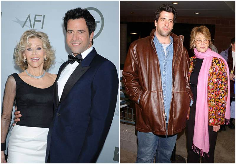 Jane Fonda's children - son Troy Garity