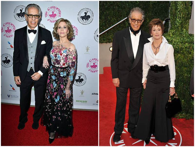 Jane Fonda's family - ex-boyfriend Richard Perry