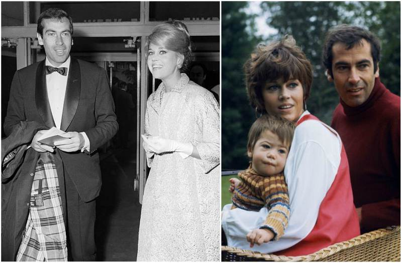 Jane Fonda's family - ex-husband Roger Vadim