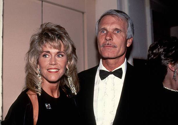 Jane Fonda's family - ex-husband Ted Turner