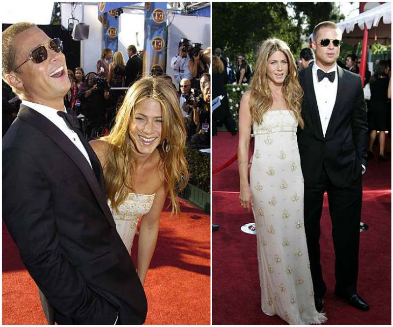 Jennifer Aniston's family - ex-husband Brad Pitt