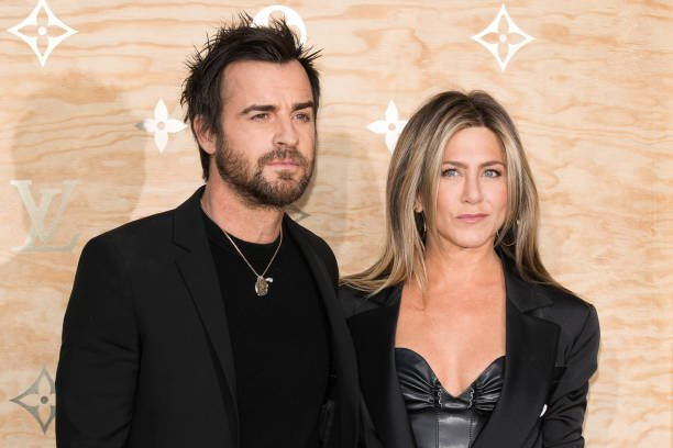 Jennifer Aniston's family - husband Justin Paul Theroux
