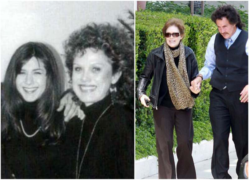 Jennifer Aniston's family - mother Nancy Maryanne Dow