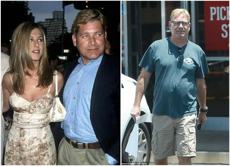 Jennifer Aniston's siblings - half-brother John T. Melick