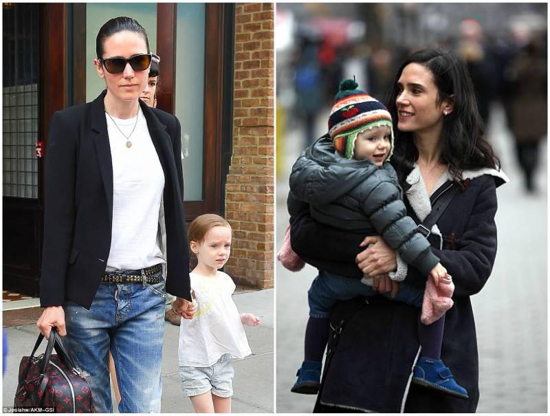 Jennifer Connelly and Paul Bettany's children - daughter Agnes Lark Bettany
