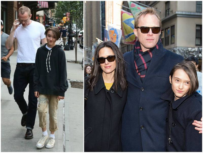 Jennifer Connelly and Paul Bettany's children - son Stellan Bettany
