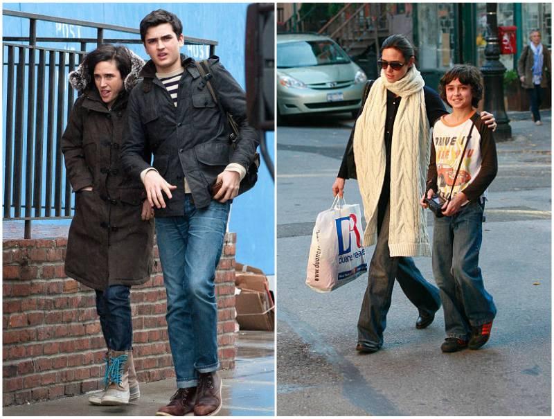 Jennifer Connelly's children - son Kai Dugan
