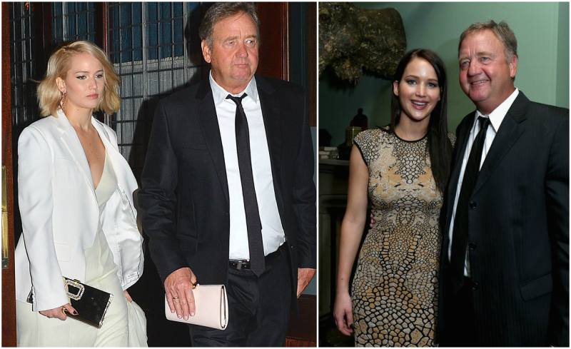Jennifer Lawrence's family - father Gary Lawrence