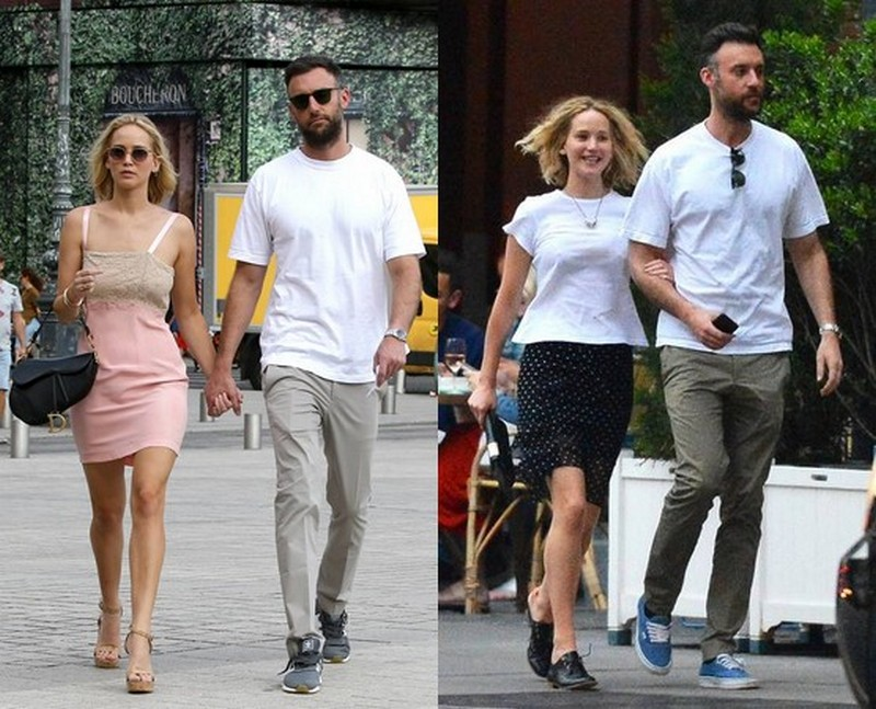 Jennifer Lawrence's family - fiance Cooke Maroney