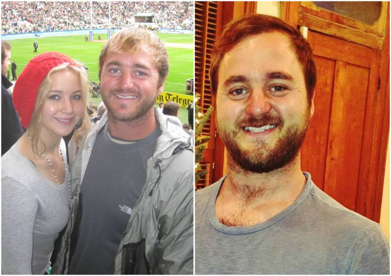 Jennifer Lawrence's siblings - brother Blaine Lawrence