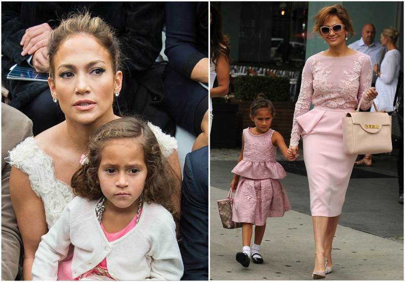 Jennifer Lopez's children - daughter Emme Maribel Muniz
