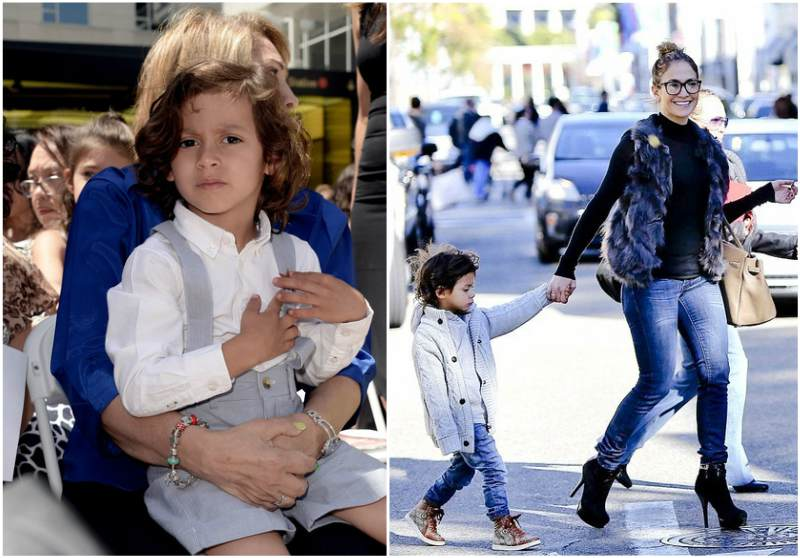 Jennifer Lopez's children - son Maximilian David Muniz