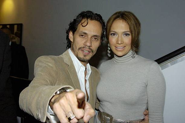 Jennifer Lopez's family - ex-husband Marc Anthony