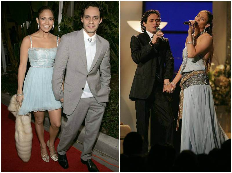 Jennifer Lopez family - ex-husband Marc Anthony