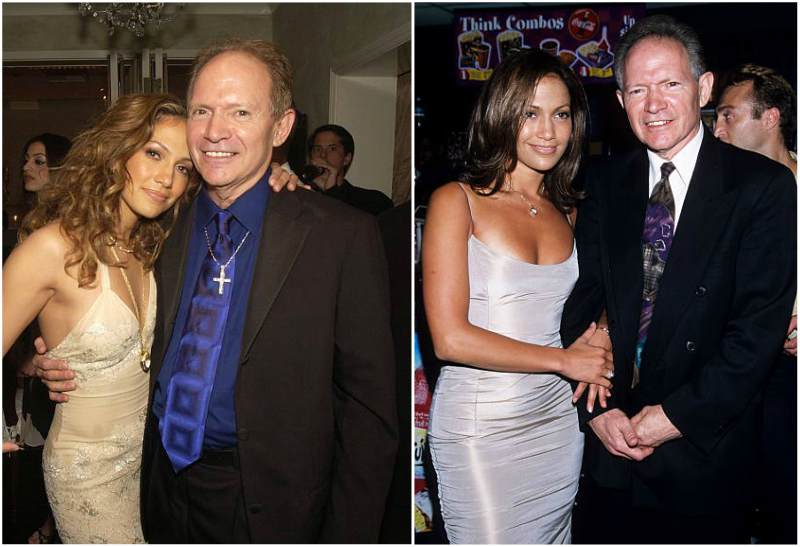 Jennifer Lopez's family - father David Lopez