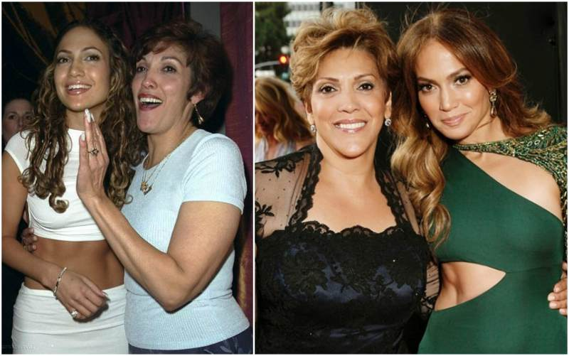 Jennifer Lopez's family - mother Guadalupe Rodriguez