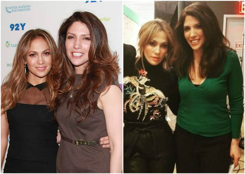 Jennifer Lopez's siblings - sister Lynda Lopez
