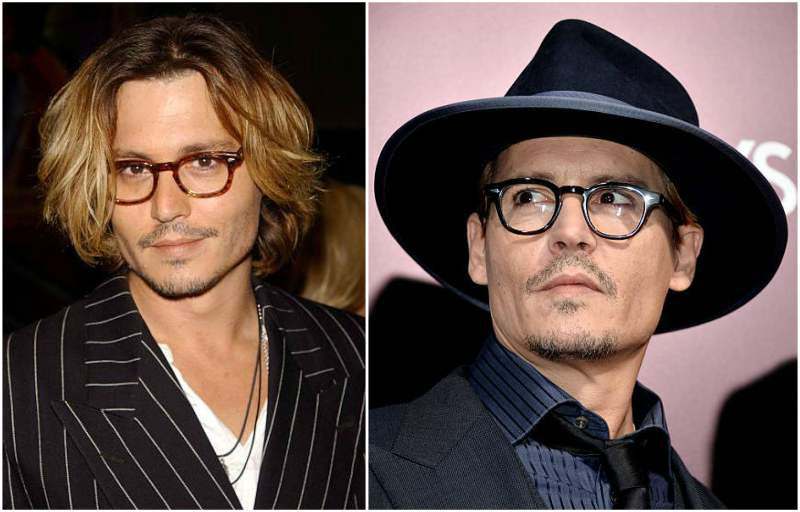 Celebrities with poor vision