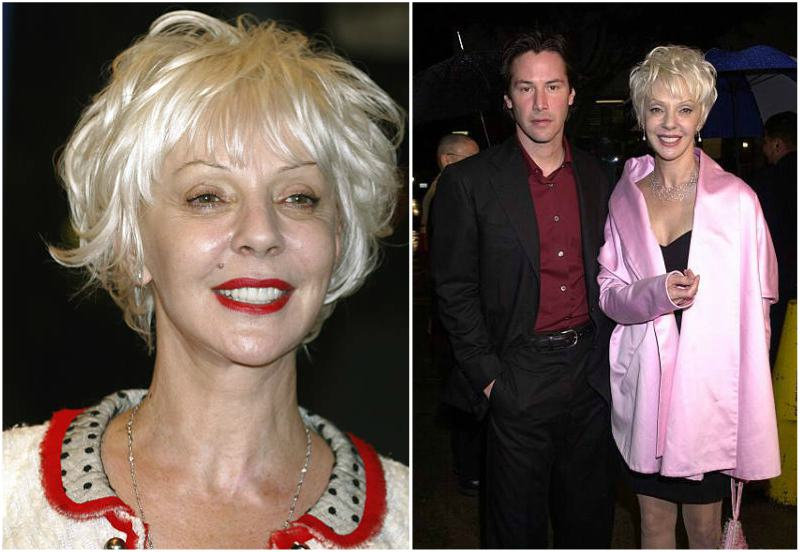 Keanu Reeves' family - mother Patricia Taylor