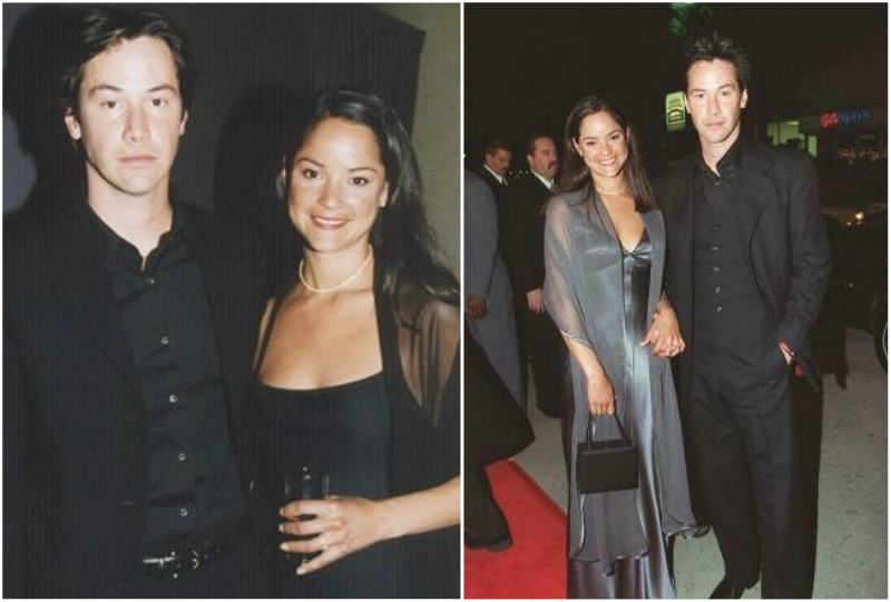 Keanu Reeves' siblings - sister Kim Reeves