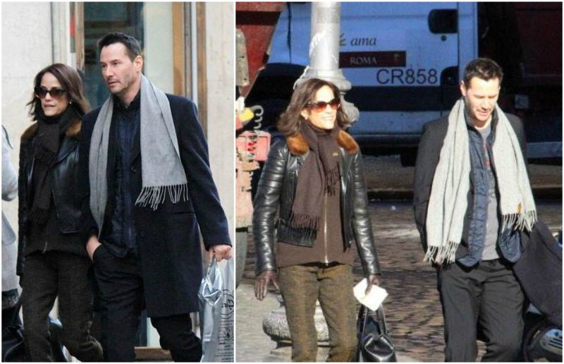 keanu reeves and ava archer syme reeves wwwpixsharkcom