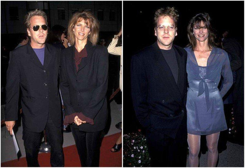 Keifer Sutherland's family - ex-wife Kelly Winn