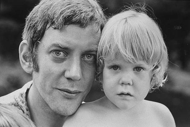 Keifer Sutherland's family - father Donald Sutherland
