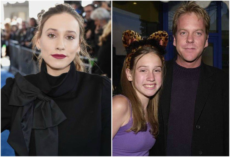 Keifer Sutherland's children - daughter Sarah Sutherland