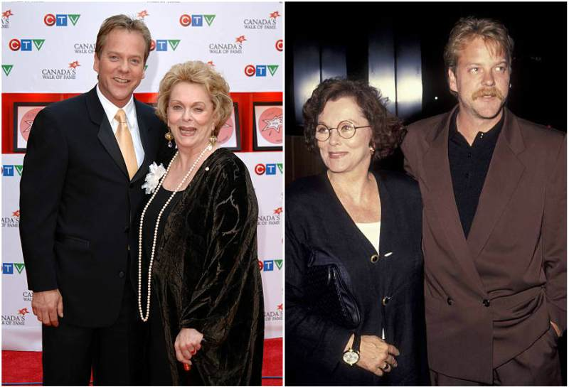 Keifer Sutherland's family - mother Shirley Jean Douglas