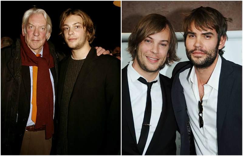 Keifer Sutherland's siblings - half-brother Angus Sutherland