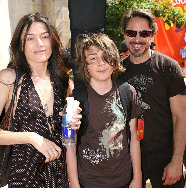 Robert Downey Jr. children - son Indio Falconer Downey