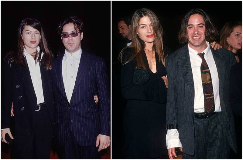 Robert Downey Jr. family - ex-wife Deborah Falconer