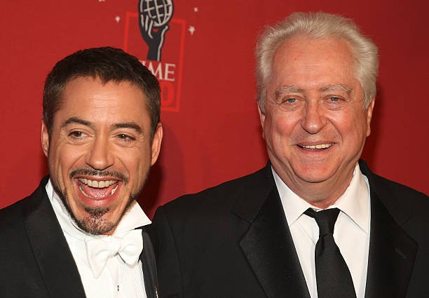 Robert Downey Jr. family - father Robert Downey Sr.